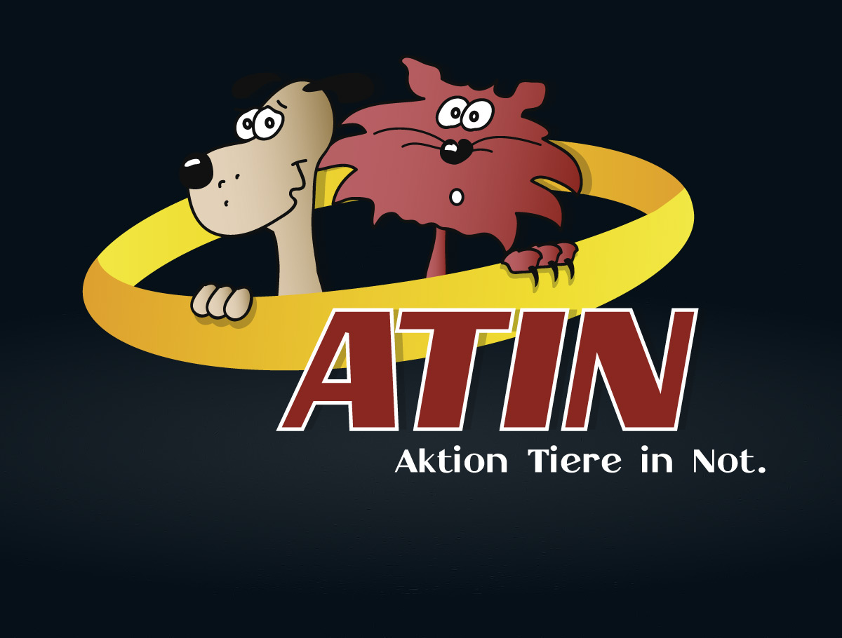 Logo-Erstellung Non-Profit Partner ATIN - Aktion Tiere in Not